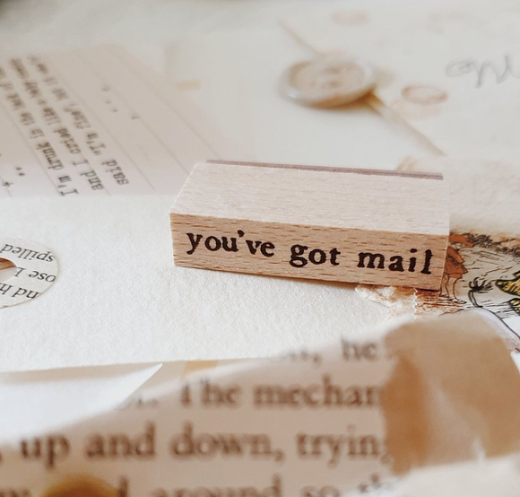 Yeoncharm You've got mail Rubber Wood Stamp