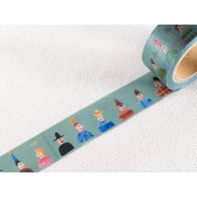 Load image into Gallery viewer, Soupy Small People Illustration Washi Tape Roll