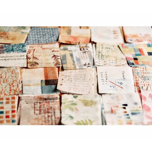 [Limited] Chamil Garden 365 Collage Paper Mini Notepad