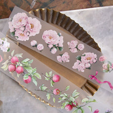 Load image into Gallery viewer, 90cm Loidesign Berries/Flowers/Ribbons PET Washi Tape Sample
