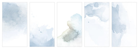 MU. Dyeing Tracing Paper Sea Fog Blue