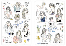 Load image into Gallery viewer, Pion Print-On Transfer Sticker Set Girls