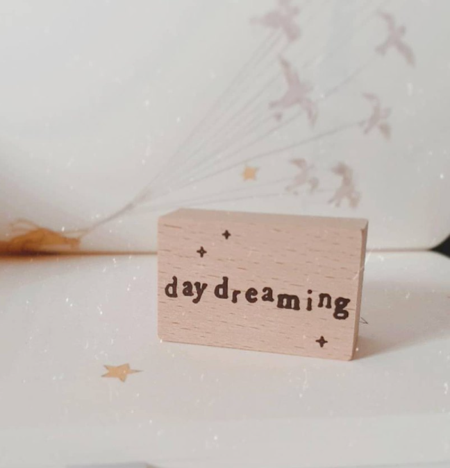 Yeoncharm Daydreaming Rubber Wood Stamp