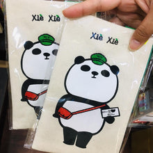 Load image into Gallery viewer, Xie Xie Panda Zipper Mail Fabric Pouch Bag