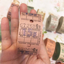 Load image into Gallery viewer, 15P Vintage Ticket Samples