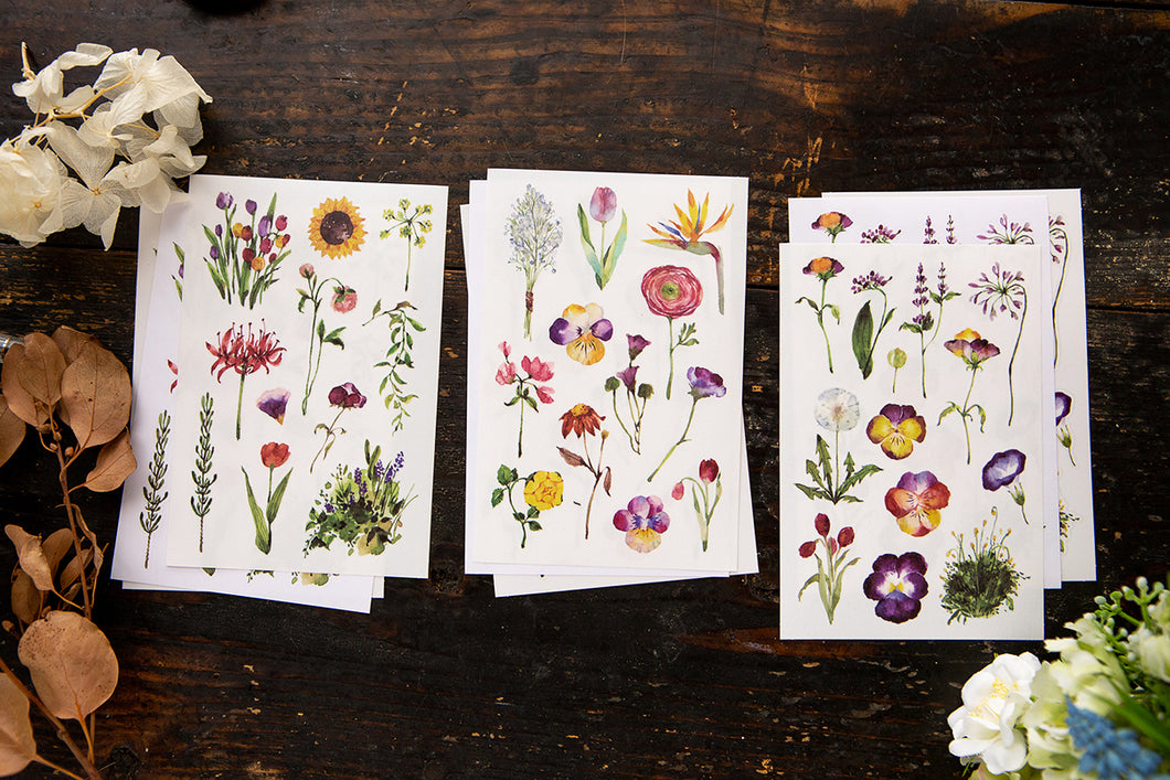 OURS Studio Varies Flowers Sticker Pack