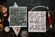 Load image into Gallery viewer, OURS Studio Olive Branches Stamp Style Sticker Set Pack