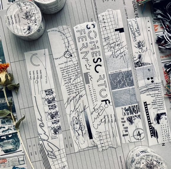 [SAMPLES ONLY] somesortoffern movie scripts Tracing Paper Masking Tape