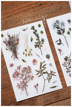 Load image into Gallery viewer, linchianing Dried Flower Transfer Sticker Sheet Pack