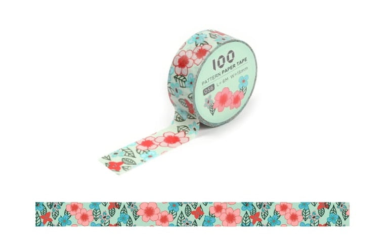 Funtape Pattern #56 Washi Tape Roll