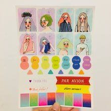 Load image into Gallery viewer, La Dolce Vita Transparent Planner Sticker Sheet