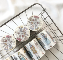 Load image into Gallery viewer, 100cm SAMPLE or FULL ROLL 46 Girls Pion Washi Tape