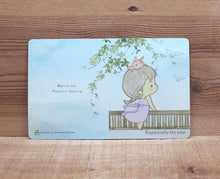 Load image into Gallery viewer, Amy and Tim Wind Breeze Mini Card Especially For You