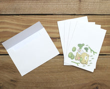 Load image into Gallery viewer, Dear Little Bear Cactus Mini Stationery Letter Set