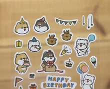 Load image into Gallery viewer, Hi John Sticker Sheet Happy Birthday