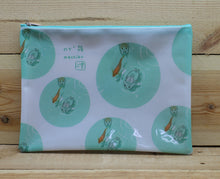 Load image into Gallery viewer, Machiko Plastic Zipper Pouch B5 Huge Version 1
