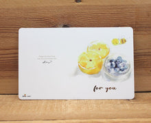 Load image into Gallery viewer, Liang Feng Watercolor Mini Card For You