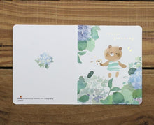 Load image into Gallery viewer, Liang Feng Watercolor Mini Card Season Greeting