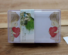 Load image into Gallery viewer, Amy and Tim Message Cards with Plastic Case Version 2
