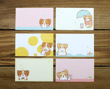 Load image into Gallery viewer, Corgi Kaka Message Cards with Plastic Case