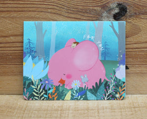 Mandie and Friends Mini Card For You