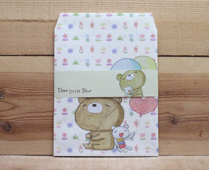 Dear Little Bear Large Paper Envelopes Gift Bags