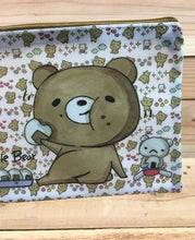 Load image into Gallery viewer, Dear Little Bear Plastic Zipper Pouch Version 2
