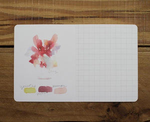 Liang Feng Watercolor Mini Card For You; Season