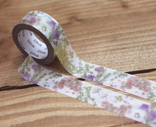 Load image into Gallery viewer, Amy and Tim Flowers Washi Tape Roll