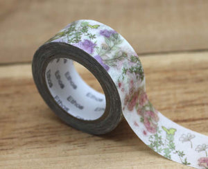 Amy and Tim Flowers Washi Tape Roll