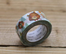 Load image into Gallery viewer, Mia Forest Animal Washi Tape Roll