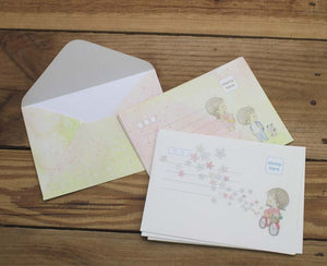 Amy and Tim Envelopes Set of 10pc 2 Designs Pack Version 2