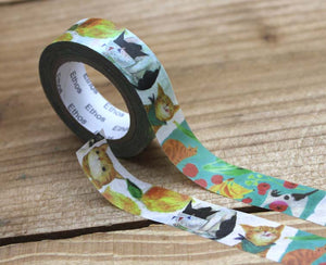 Mia Cat Washi Tape Roll