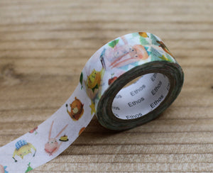 Mia Forest Animal Washi Tape Roll