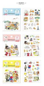SUNNY CO. Daily Living Transparent Sticker Flakes Pack A