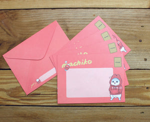 Machiko Envelopes Set of 10pc 2 Designs Pack