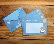 Load image into Gallery viewer, Machiko Envelopes Set of 10pc 2 Designs Pack