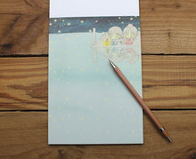 Load image into Gallery viewer, Amy and Tim Medium Sized Starry Night Letter Notepad Sheet