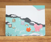 Load image into Gallery viewer, Mandie and Friends Mini Card For You