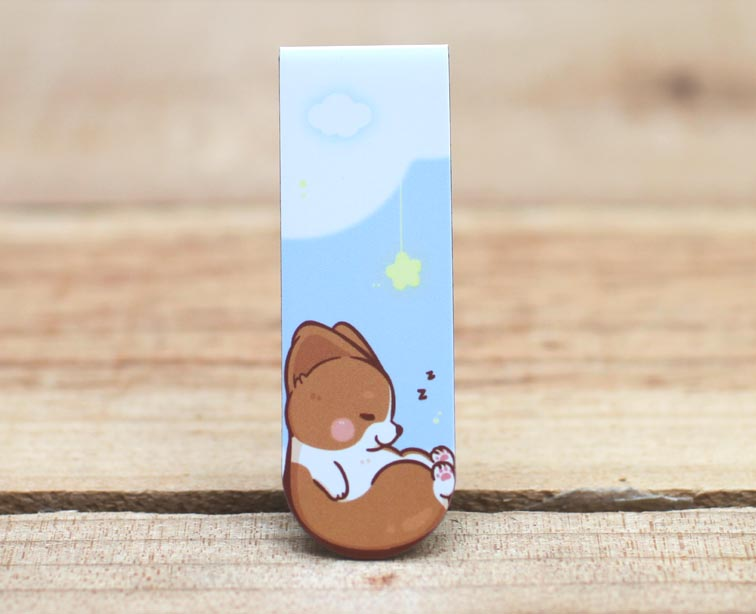 Corgi Kaka Magnetic Bookmark