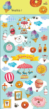 Load image into Gallery viewer, Jan Hsuan's Illustration Carnival Transparent Sticker Sheet