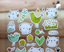 Load image into Gallery viewer, Jan Hsuan's Illustration Sticker Sheet