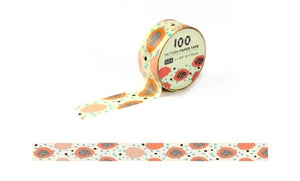 Funtape Pattern #34 Washi Tape Roll