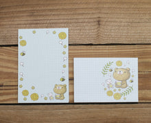 Load image into Gallery viewer, Dear Little Bear Tea Mini Stationery Letter Set