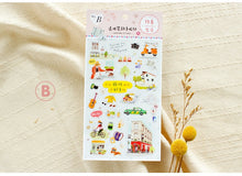 Load image into Gallery viewer, SUNNY CO. Daily Life Transparent Sticker Sheet B