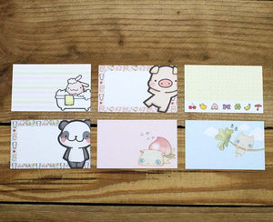 Meow Meow Message Cards with Plastic Case