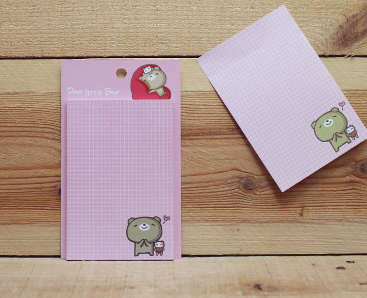 Dear Little Bear Sticky Note Version 2