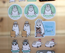 Load image into Gallery viewer, Machiko Transparent Sticker Sheet Travel