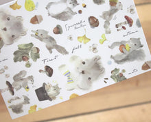 Load image into Gallery viewer, Liang Feng Watercolor Squirrel Card Any Occasion