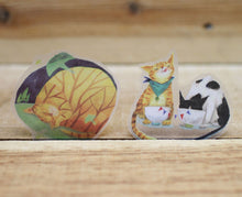 Load image into Gallery viewer, Mia Cats Waterproof Transparent Sticker Flakes